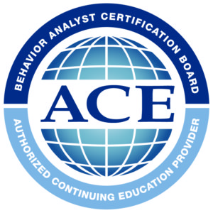 InJewel LLC has been approved by the Behavior Analyst Certification Board, Inc. (BACB) as an ACE provider of Type II continuing education events. BACB ACE Provider # OP-18-2889